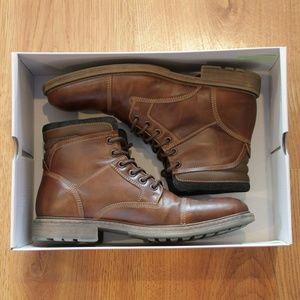 Sonoma Men's Brown Lace Boots